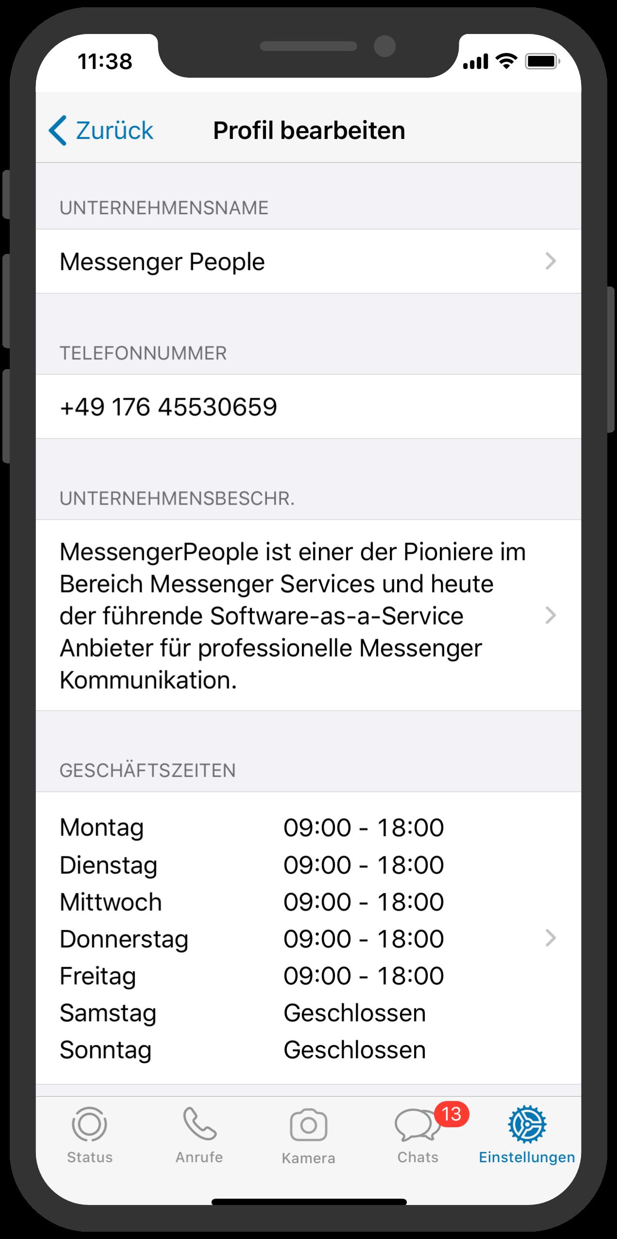 Nachteile Whatsapp