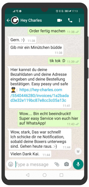 ecommerce-messenger-kundenservice-hey-charles_order_whatsapp2