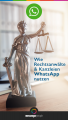 WhatsApp Chatbot für Rechtsanwälte Pinterest