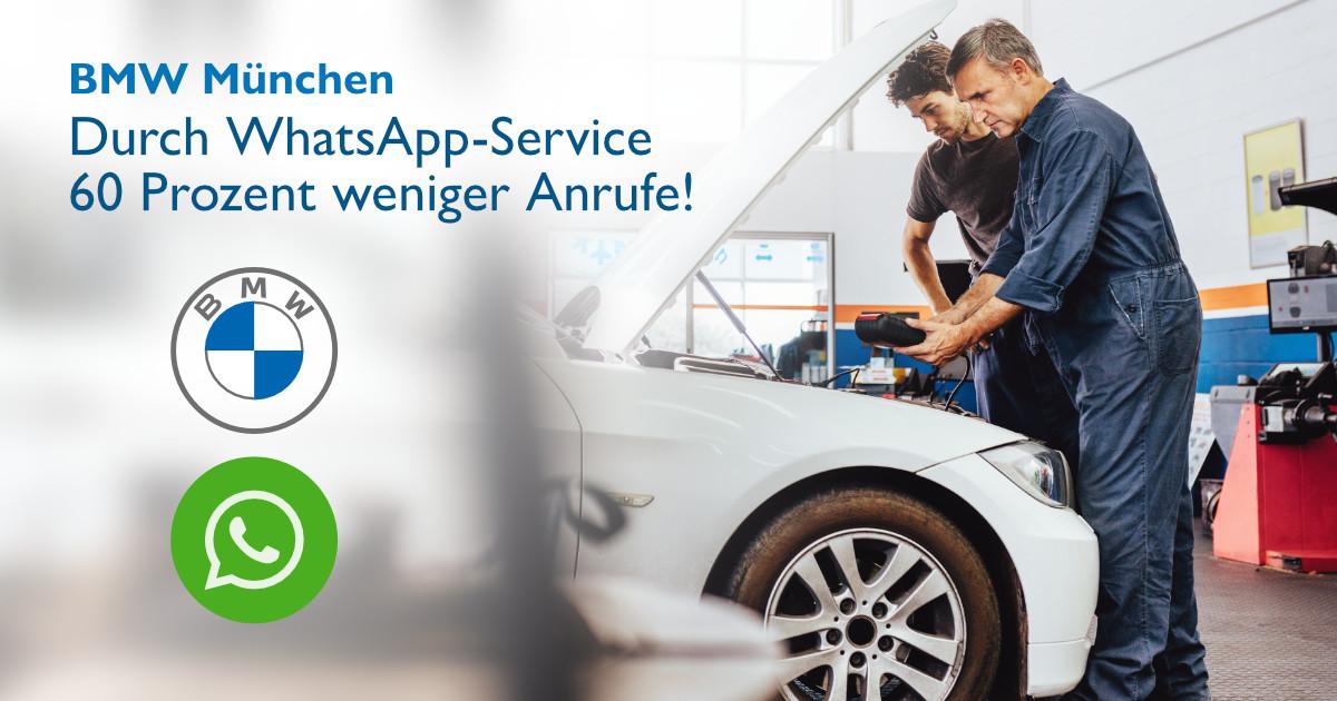 bmw münchen caste study whatsapp service