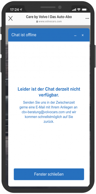 live-chat-volvocars-mobil