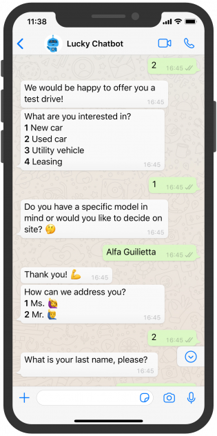 Lucky_English_Chatbot_Car Dealership_2