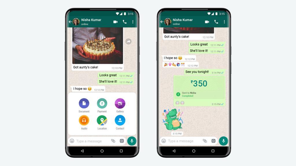 WhatsApp Payment in Indien bezahlen per Messenger