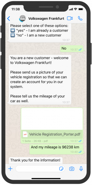 volkswagen_Frankfurt_WhatsApp_Service_English_Chatbot