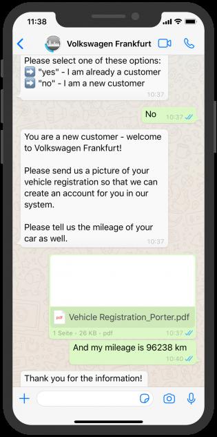 volkswagen_Frankfurt_WhatsApp_Service_English_Chatbot