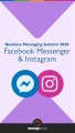 Facebook Messenger & Instagram