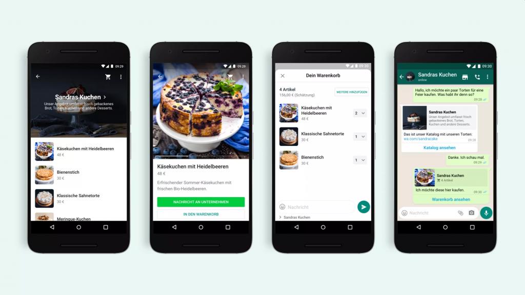 whats app business App update katalog