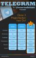 Telegram Kanal Bot Profil für Unternehmen