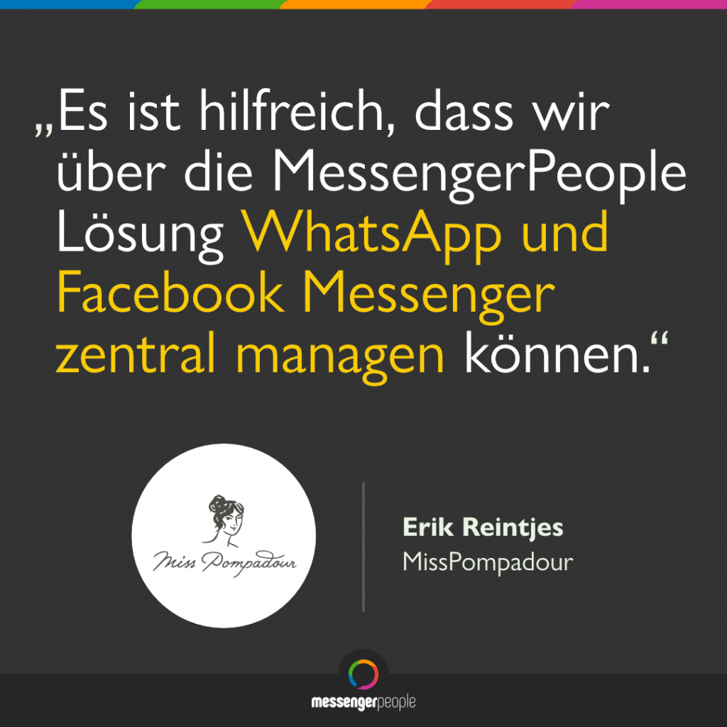 MessengerPeople Software Bewertung
