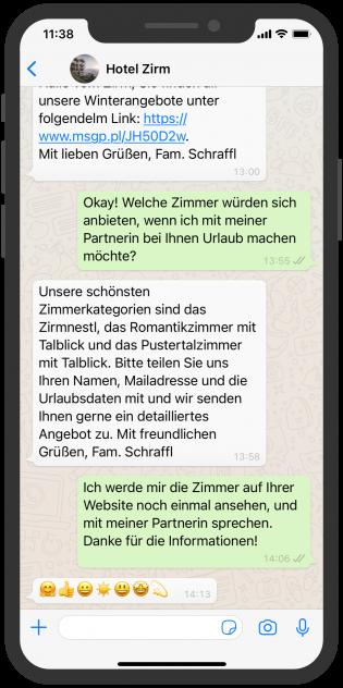 hotel-zirm-whatsapp-beratung