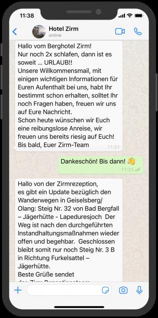 hotel-zirm-whatsapp-anreise-nachricht