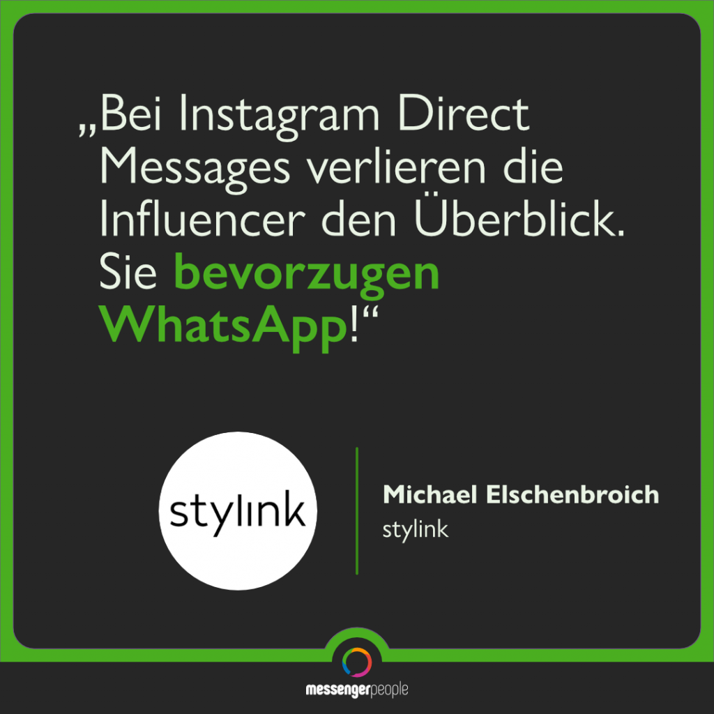 WhatsApp vs. Instagram Direct Messages