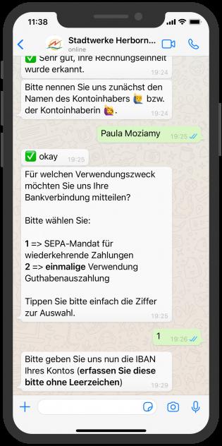 stadtwerke-herborn-whatsapp-service-chatbot-Bankverbindung-aendern