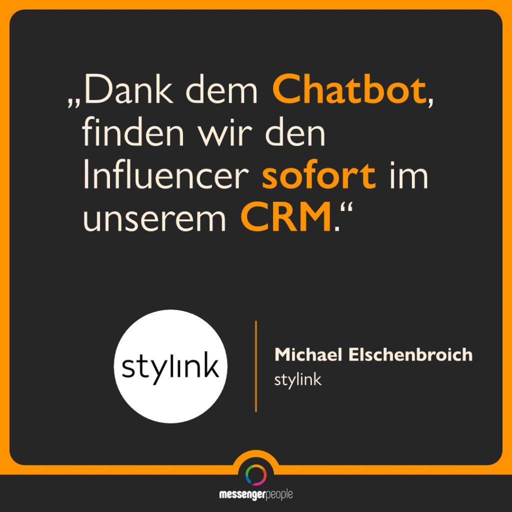 Chatbot hilft bei Abgleich mit CRM