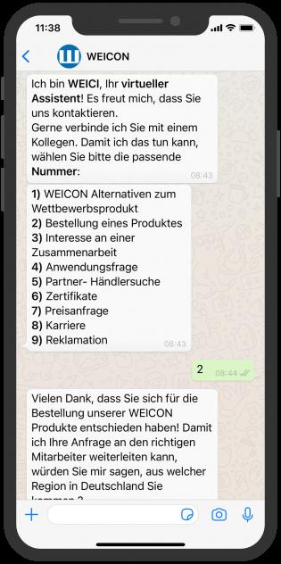 WEICON-whatsapp-service-B2B-vertrieb
