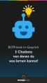 BOTfriends, 5 Chatbots