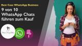 Conversational Commerce WhatsApp Beispiel misspompadour