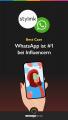 Logo stylink, logo WhatsApp, Best Case - WhatsApp #1 bei Influencern