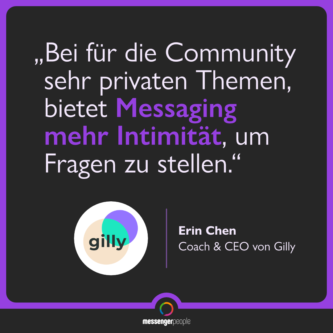 Messaging ist ein sehr intimer Kanal