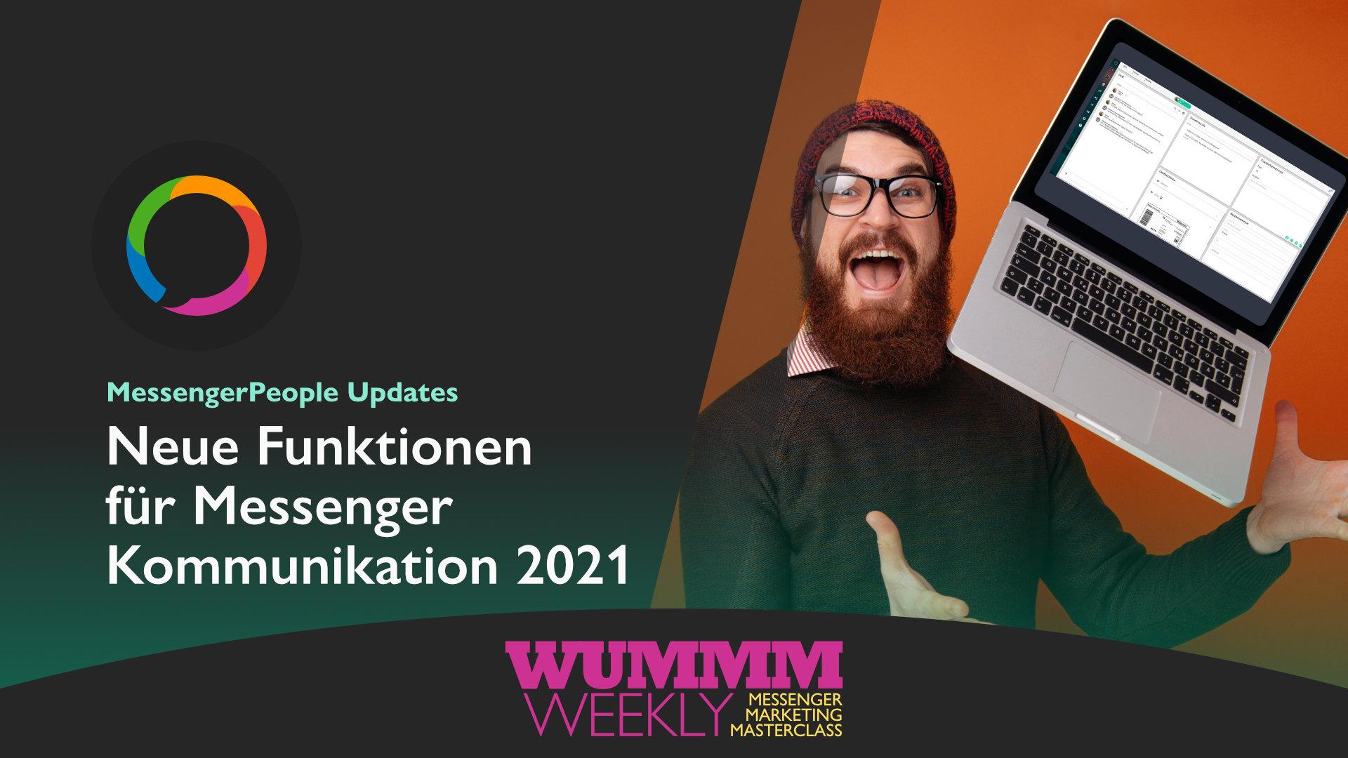 Wummm-weekly, Logo MP, Neue Funktion für Messenger Kommunikation 2021