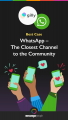 Best case gilly whatsapp closest channel to community