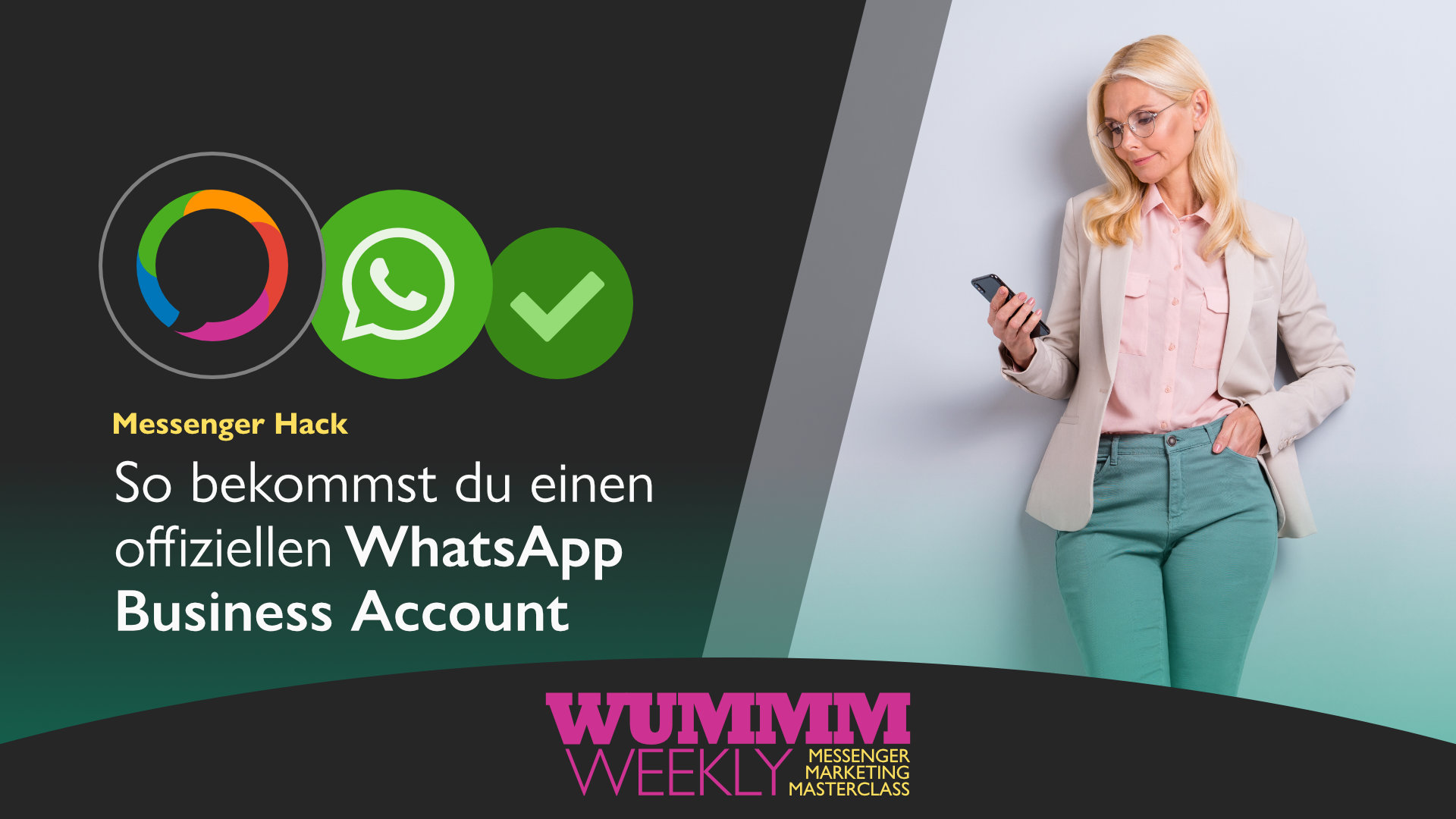 Wummm-weekl, MP Logo, WhatsApp Logo, WhatsApp Business Account