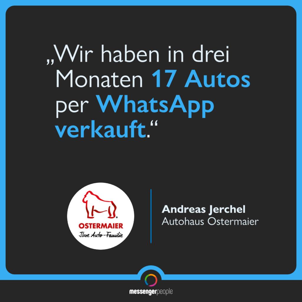 WhatsApp als erfolgreicher Verkaufskanal im Autohaus