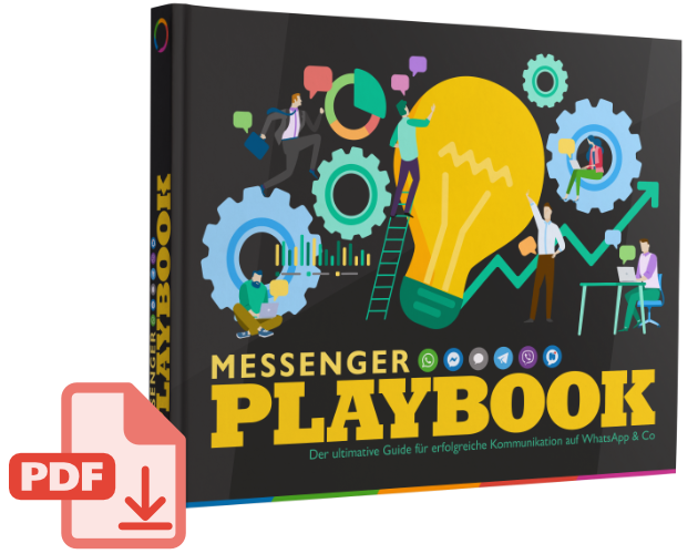 Messenger Playbook über Kommunikation auf WhatsApp & Co