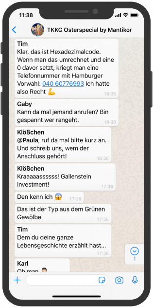 TKKF WhatsApp Marketing Kampagne