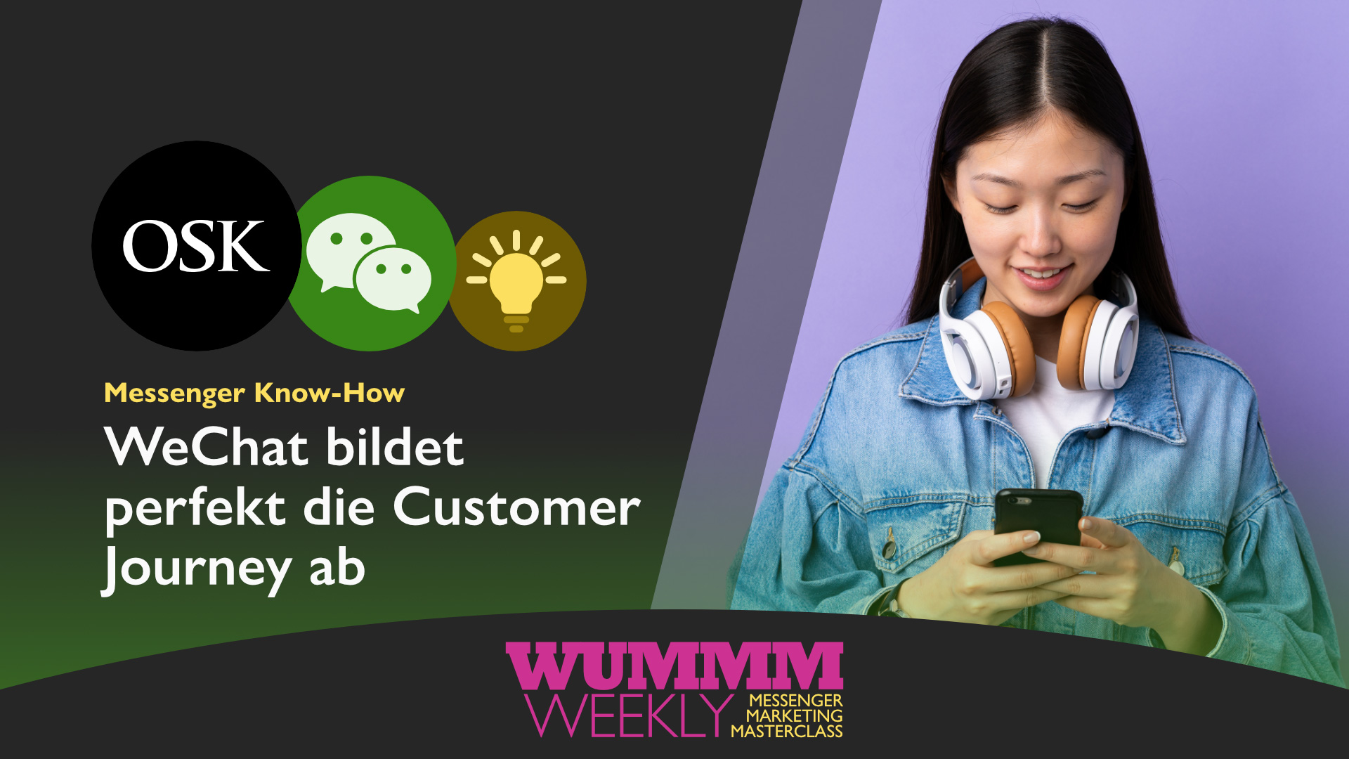 Customer journey WeChat