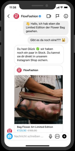 instagram Messaging Conversational Commerce