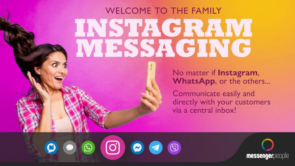 Messenger API for instagram Info