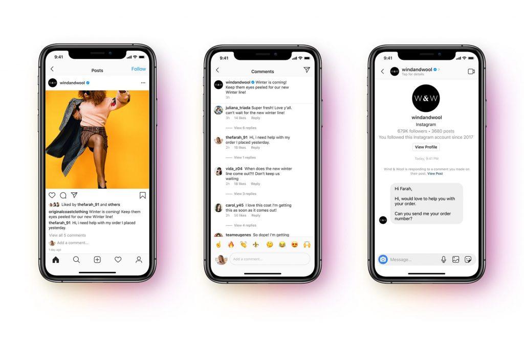 Messenger API Instagram