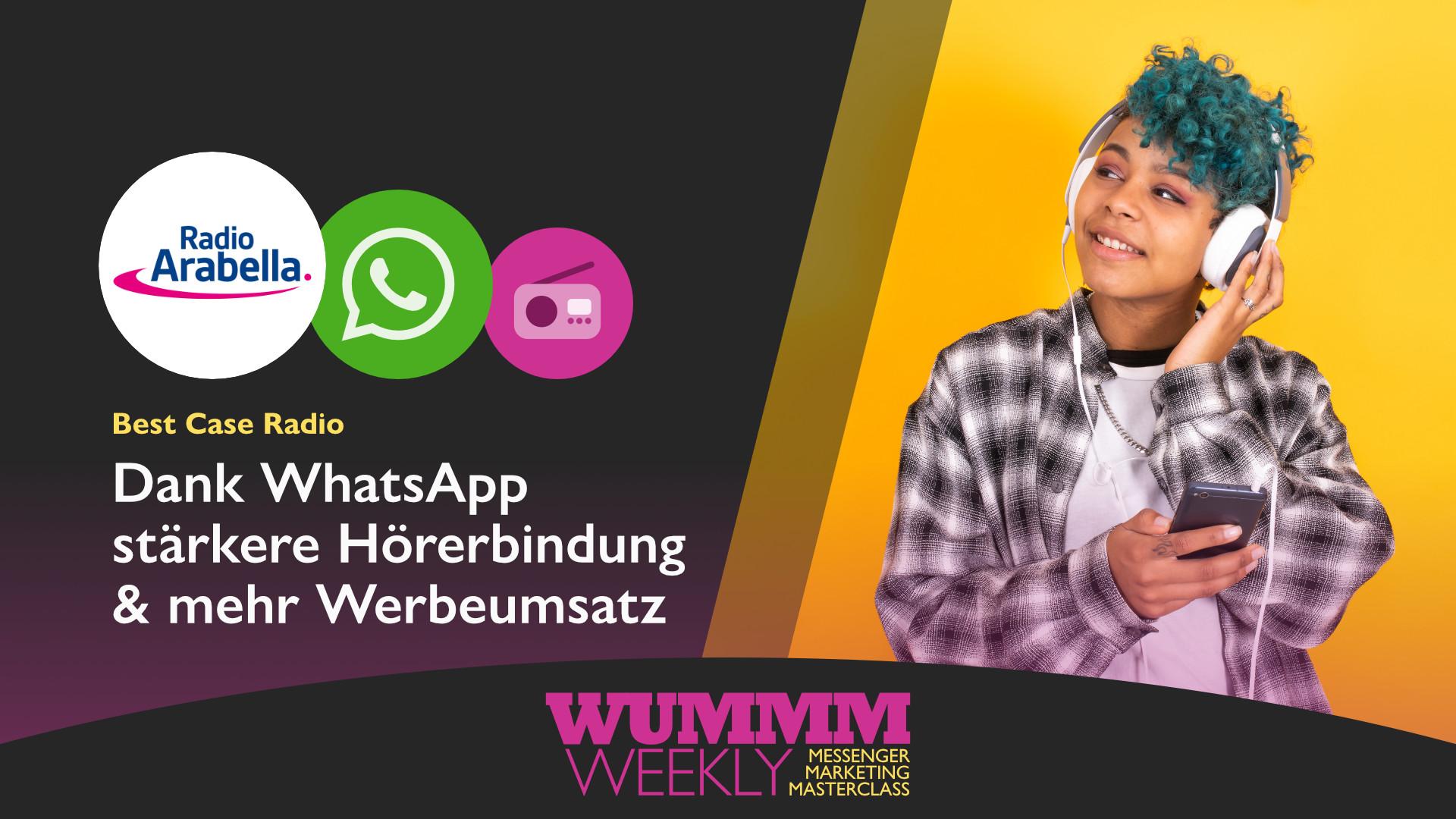 Best Case Radio Arabella WhatsApp wummm weekly