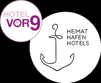 logo hotel vor 9 heimathafen hotels