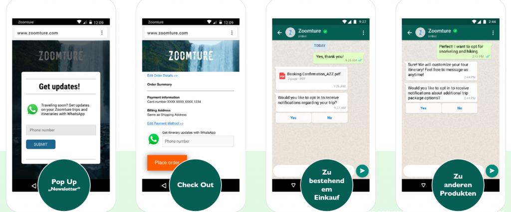 WhatsApp Business Nachrichten! Opt In anleitung