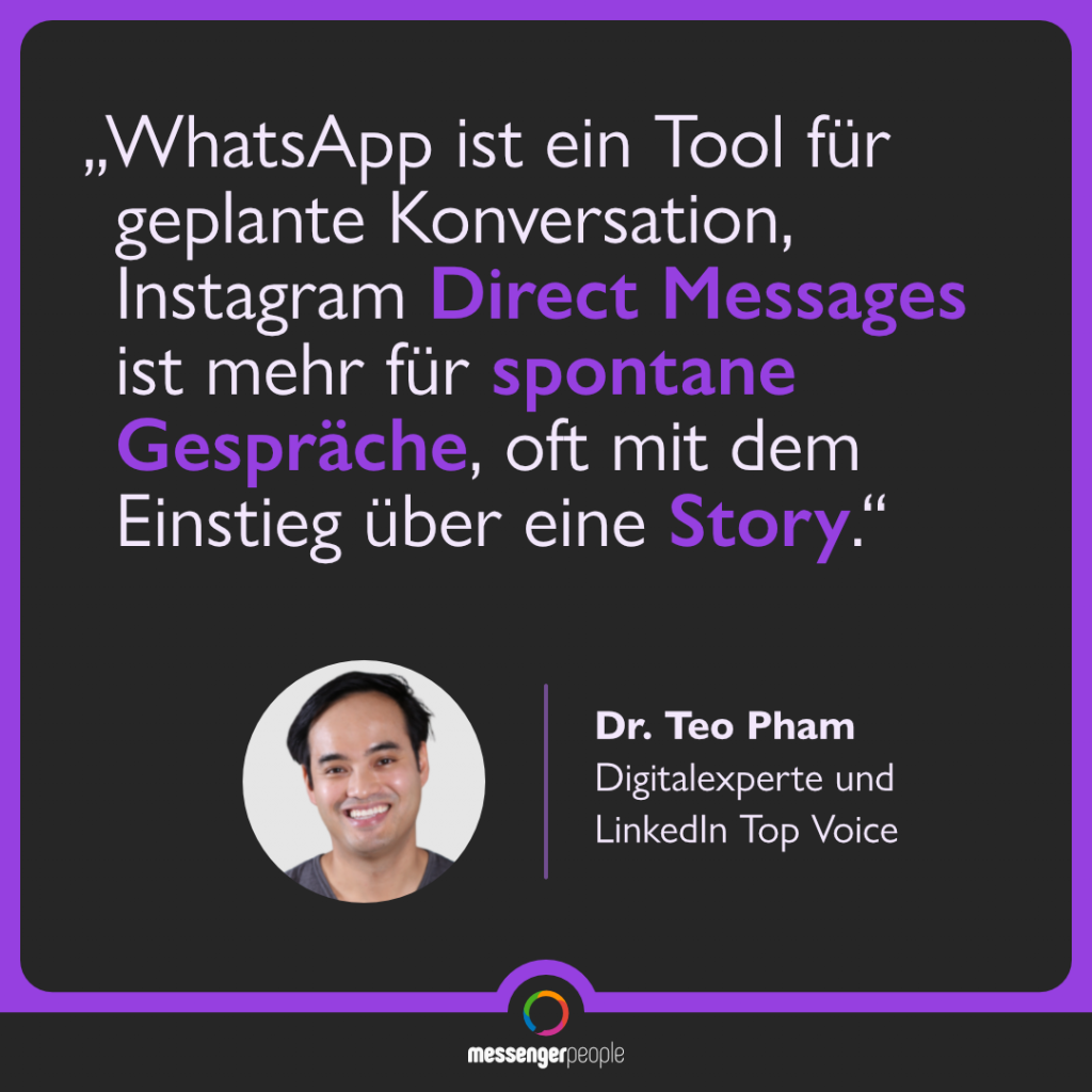 Social Commerce Instagram WhatsApp Teo