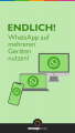 WhatsApp Business auf mehreren Geräten Pin