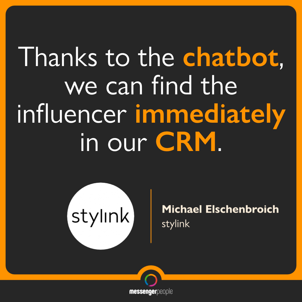 stylink quote messengerpeople crm integration