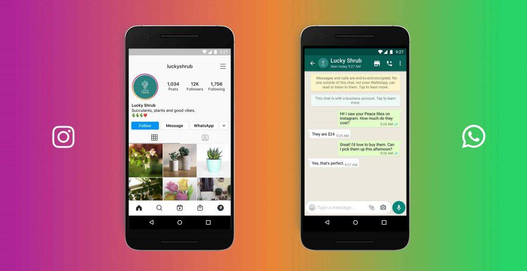 WhatsApp Button auf Instagram einbauen